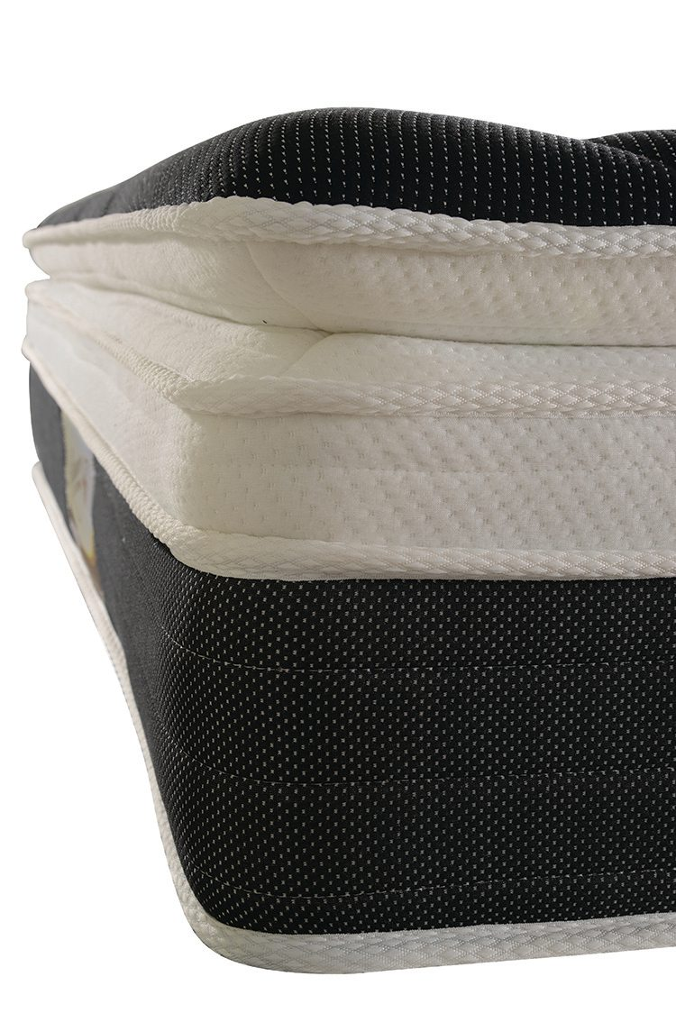 Rayson Mattress-Pillow top euro top 14 inch coil spring mattress-3