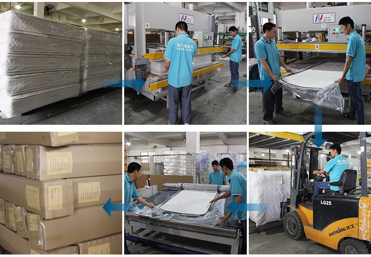 Rayson Mattress Latest single bed spring mattress price manufacturers-12