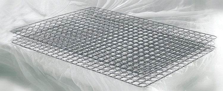 New pocket spring mattress with memory foam topper top manufacturers-2