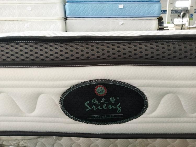Rayson Mattress high quality hotel pillow top mattress pad Suppliers