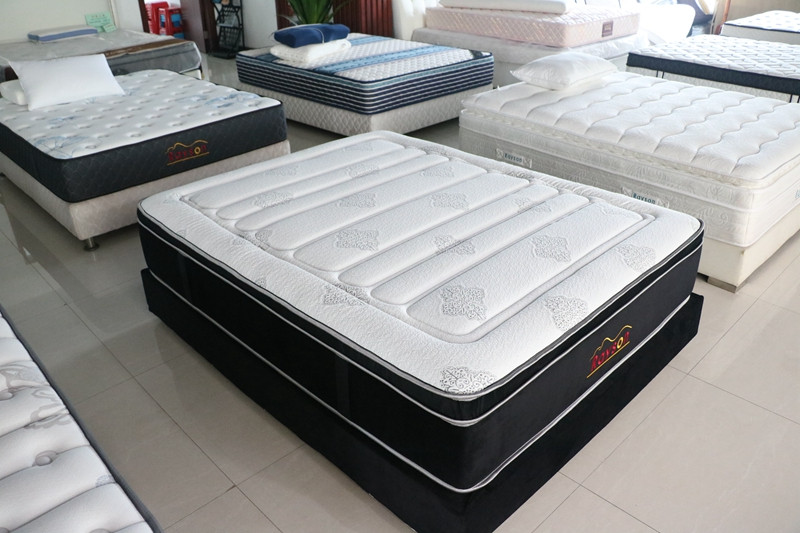 Rayson Mattress-Pocket coil box spring mattress king size firm euro top-5