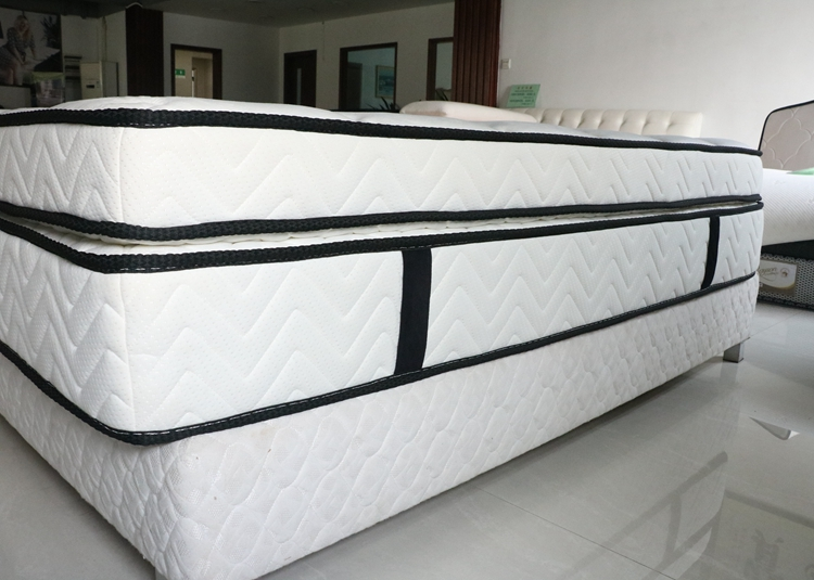 Rayson Mattress-Double layers pocket spring mattress high quality for sale-2