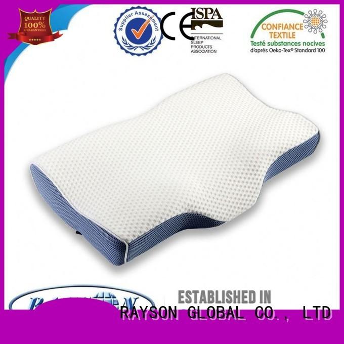 Hot customizable cool contour memory foam pillow parts Rayson Mattress Brand