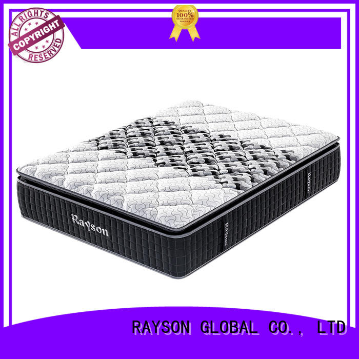 Rayson Mattress High-quality memory foam pocket spring mattress Suppliers