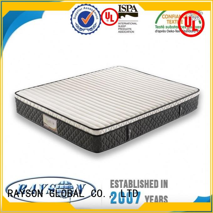 Rayson Mattress Latest roll packed spring mattress manufacturers