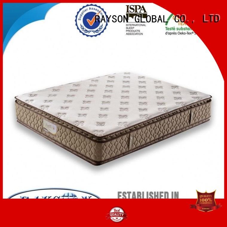 Rayson Mattress Brand 18m rspwy 5 star hotel mattress 4d factory