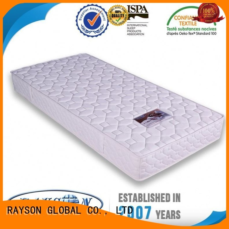Rayson Mattress Top mattress with springs inside manufacturers