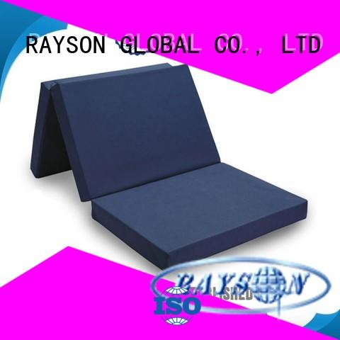 roller rspvow flex foam mattress latex knockdown Rayson Mattress company