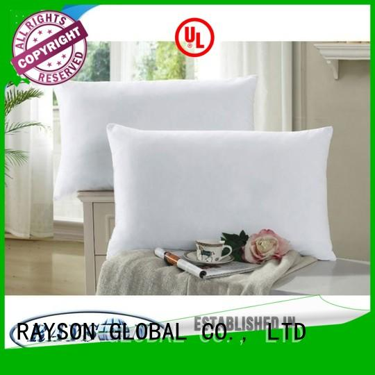Rayson Mattress high quality memory foam pillow vs feather Supply