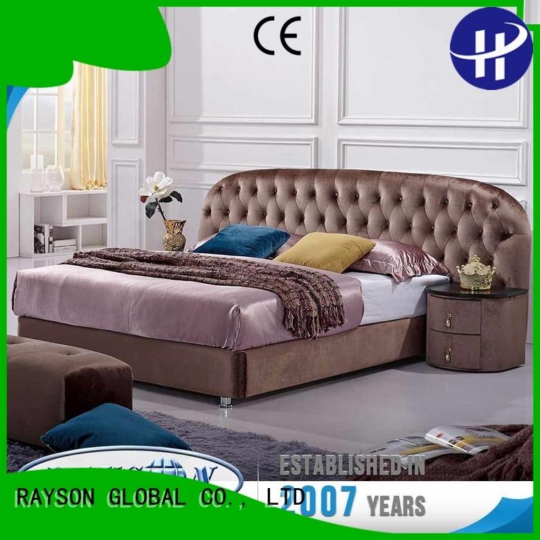 extra small sense hotel bed base roller Rayson Mattress