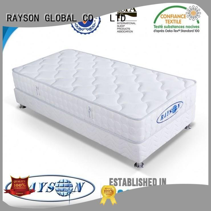 Wholesale large memory foam and coil spring mattresses Rayson Mattress Brand