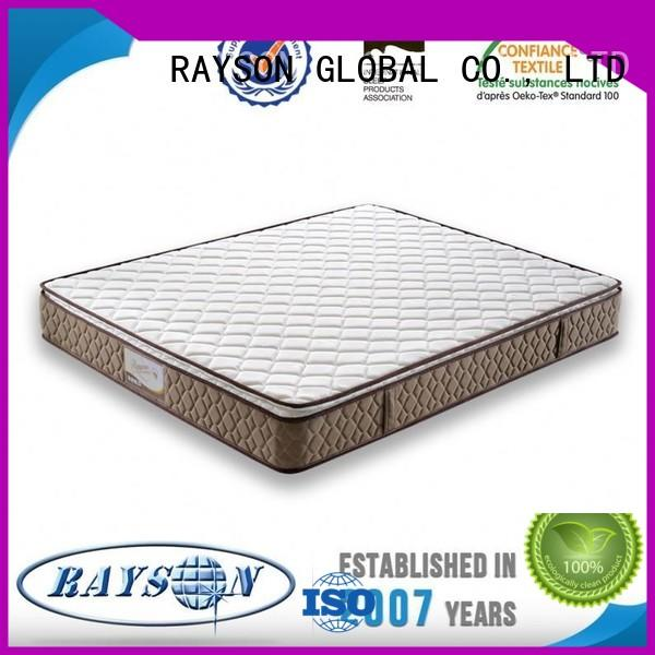 Rayson Mattress Brand list easy cooling tufted bonnell spring mattress sexy factory
