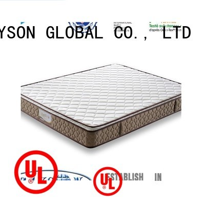 Quality Rayson Mattress Brand mat double cooling tufted bonnell spring mattress