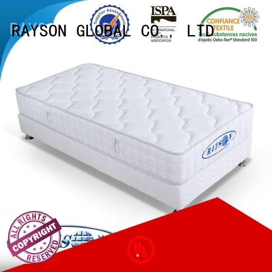 memory foam and coil spring mattresses springwell visco Rayson Mattress Brand