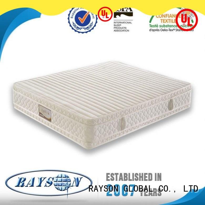 Rayson Mattress Top most popular hotel mattress Supply