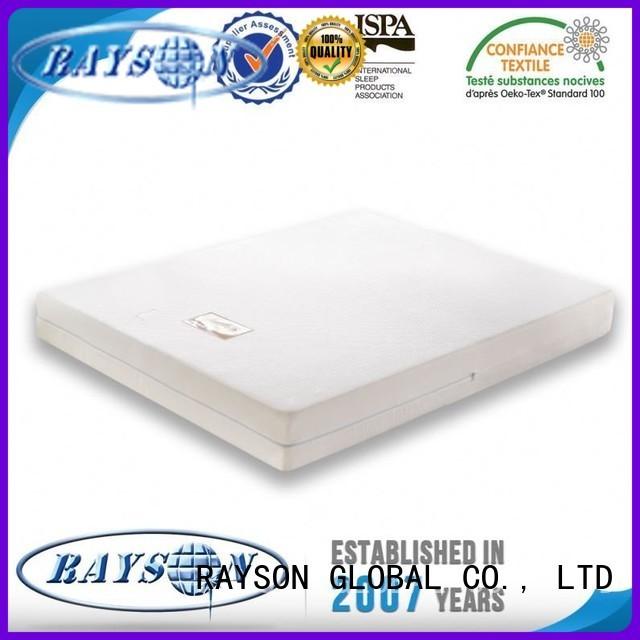 Quality Rayson Mattress Brand website bambo memory foam mattress and bed
