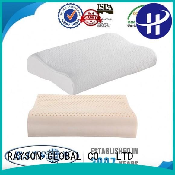 Rayson Mattress Custom non toxic memory foam pillow Suppliers