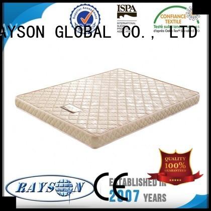 Rayson Mattress Brand retardant poly foam mattress toppers apartment supplier