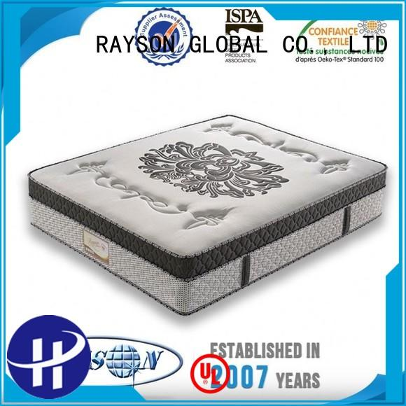 roll pocket sprung and gel mattress series for villa Rayson Mattress