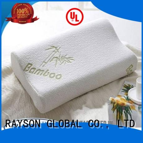 Rayson Mattress Brand renewable diamond reasonable custom cool contour memory foam pillow
