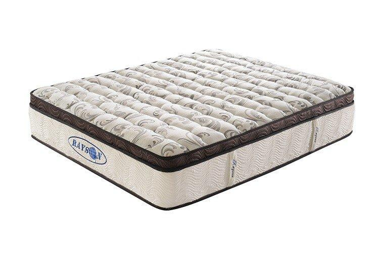 Wholesale support mettress pocket sprung and foam mattress Rayson Mattress Brand