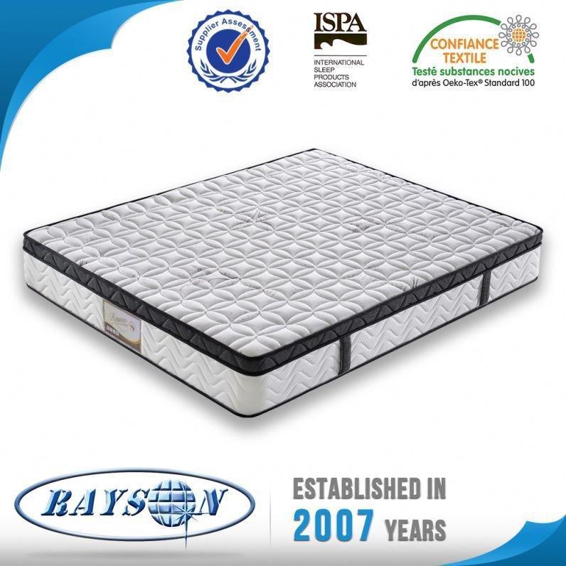 Muebles del dormitorio para la venta mejor dormir colchón de esponja cubierta de Eurotop