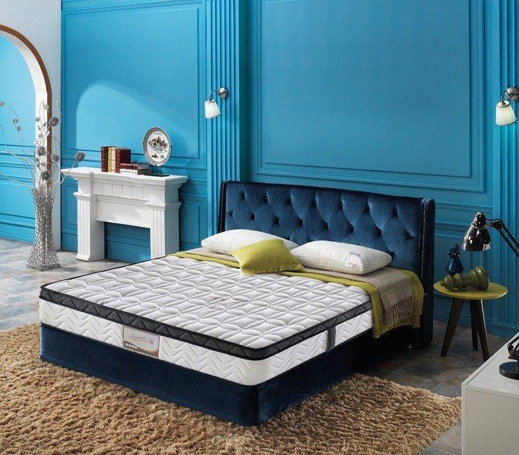 Custom seller cooling tufted bonnell spring mattress bed Rayson Mattress