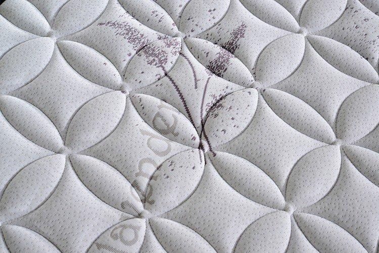 high quality deluxe bonnell mattress with memory foam manufacturer for house