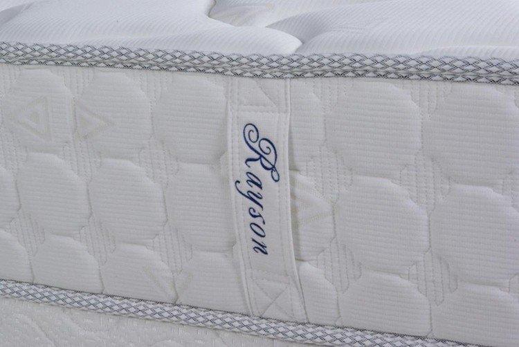 Hot size continuous spring mattress encased mattre Rayson Mattress Brand