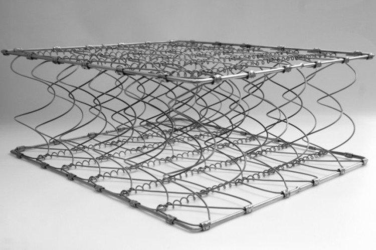 Custom continuous coil mattress european Supply-5