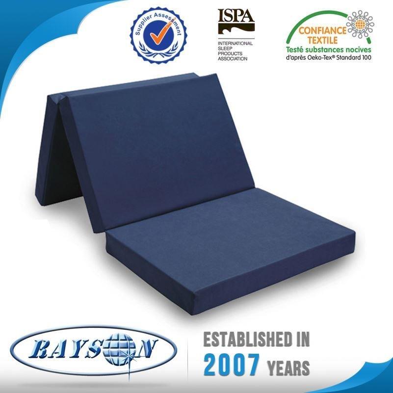China Wholesale Breathable Lounge Bed Folding Mattress