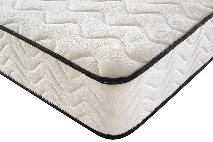 New pocket sprung double mattress with memory foam top rolled Supply-5