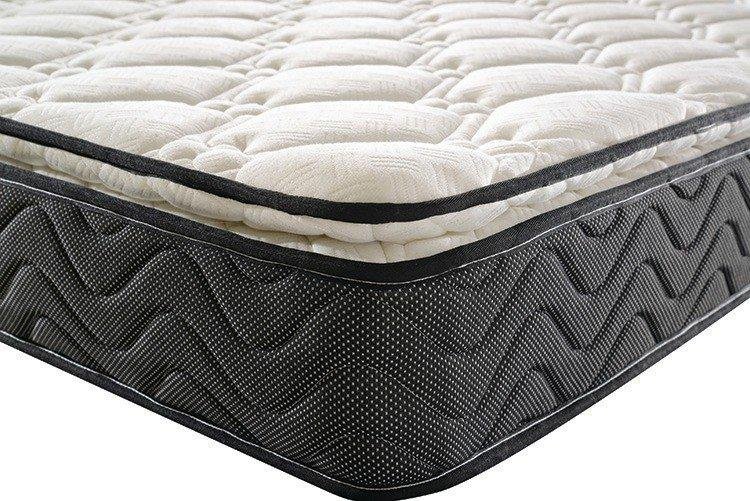 Custom double layer pocket spring mattress customized Supply