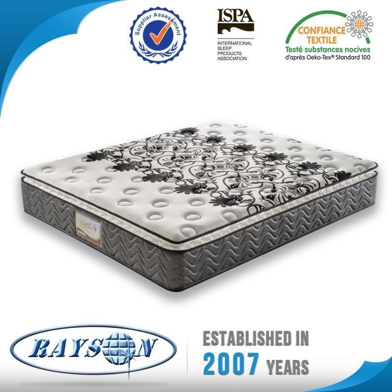 Hot Sale Wholesale Price Five Star Latex Foam Pocket Spring Mattress Factory