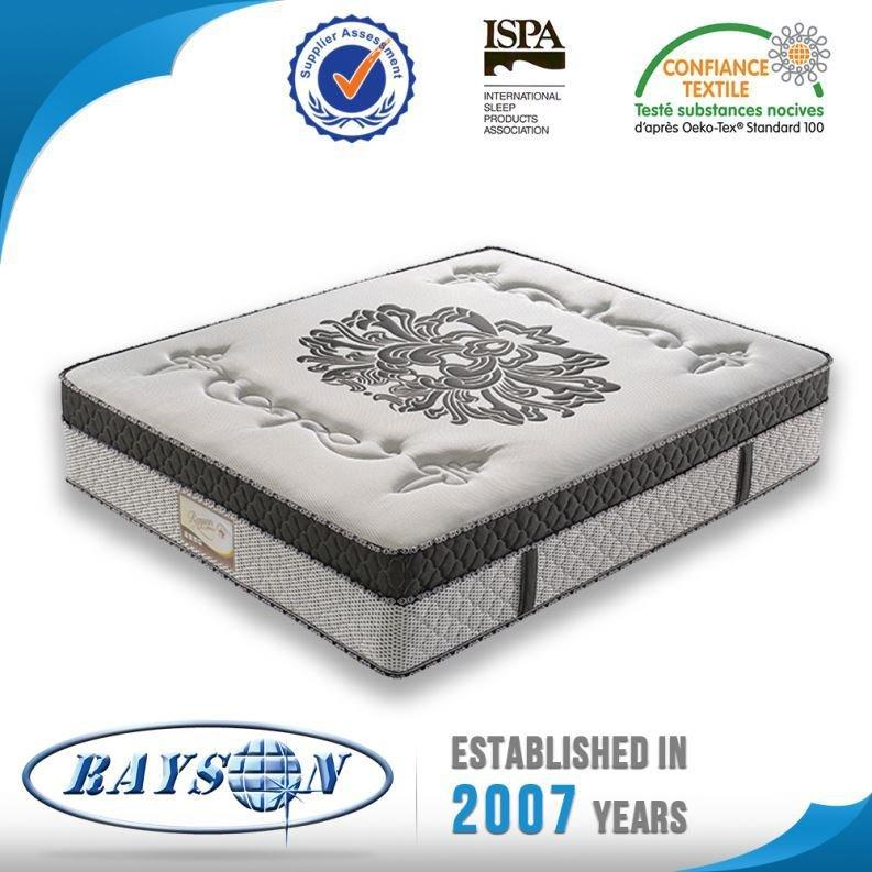 Ispa Certification Double Layer Euro Top Pocket Spring Mattress