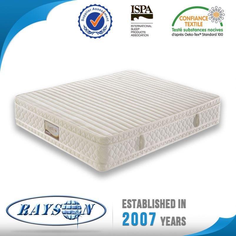 製品を寝室のため中国ホット新しい良いスプリング入りマットレスからインポートできます。