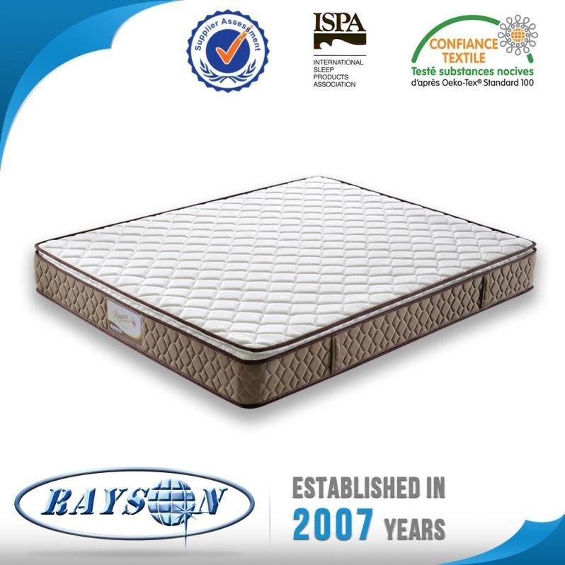 Oem Odm King Size Bonnell Spring Renewable Polyurethane Mattress