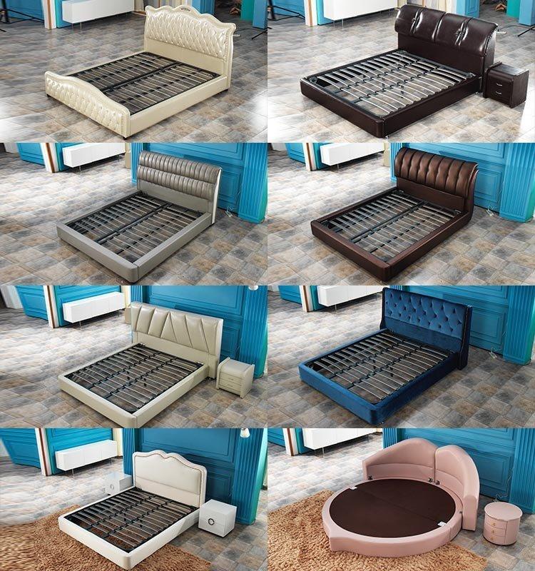 Rayson Mattress high grade king bed frame no headboard Supply-6