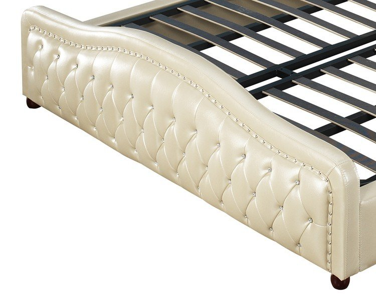 New full size steel bed frame high grade Suppliers-4