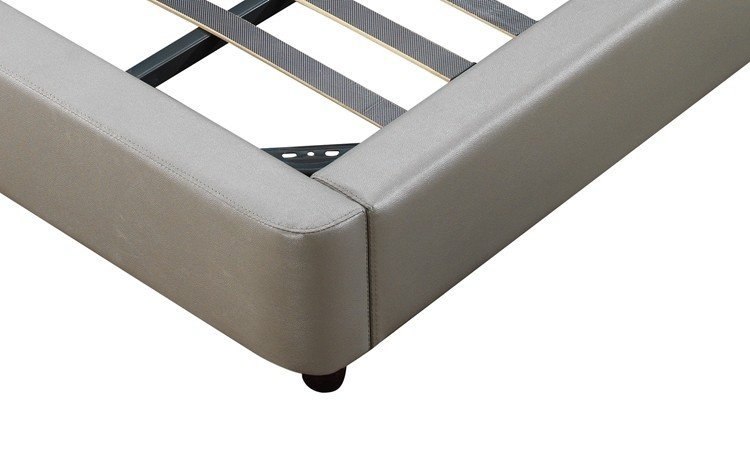 New full size metal bed frame high grade Suppliers-5
