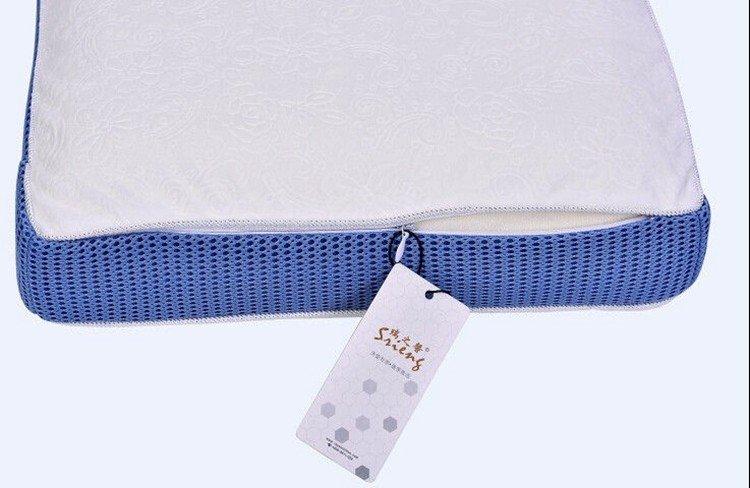cool contour memory foam pillow charcoal Rayson Mattress Brand memory foam pillow deals