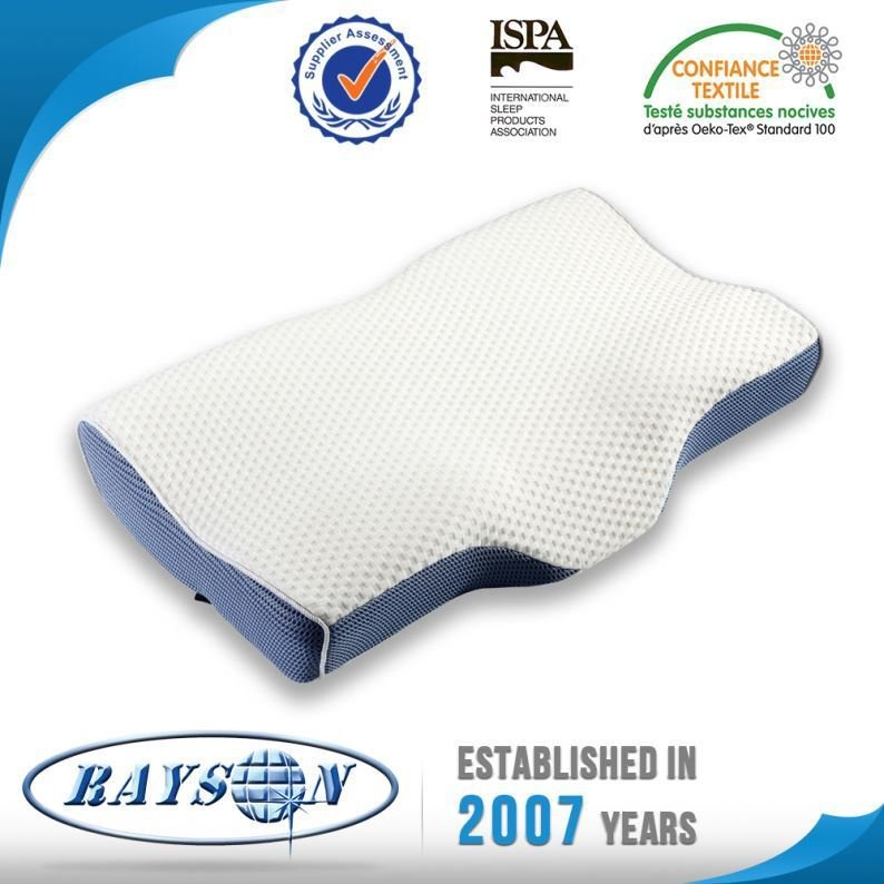 From China Wholesale Memory Foam Pillow White