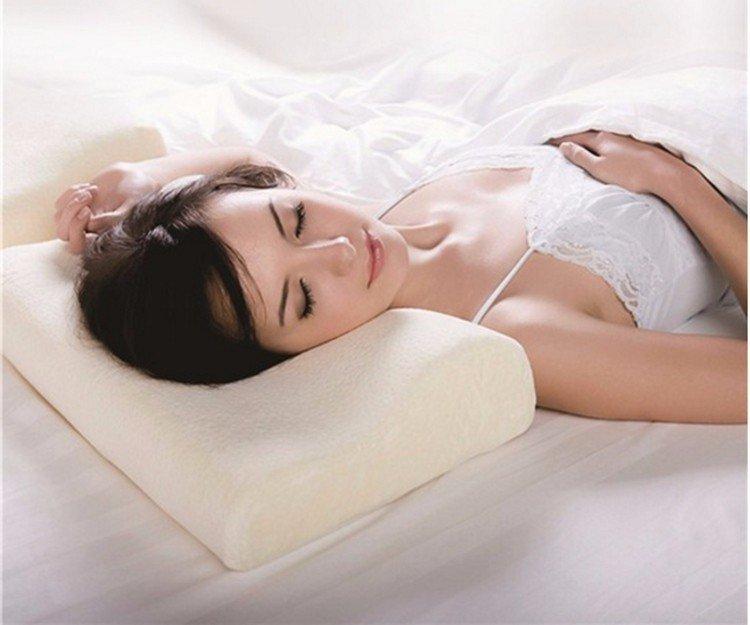 cool contour memory foam pillow tree toppocket therapeutic Rayson Mattress Brand