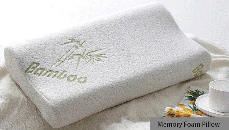 happy commercial cool contour memory foam pillow Rayson Mattress Brand