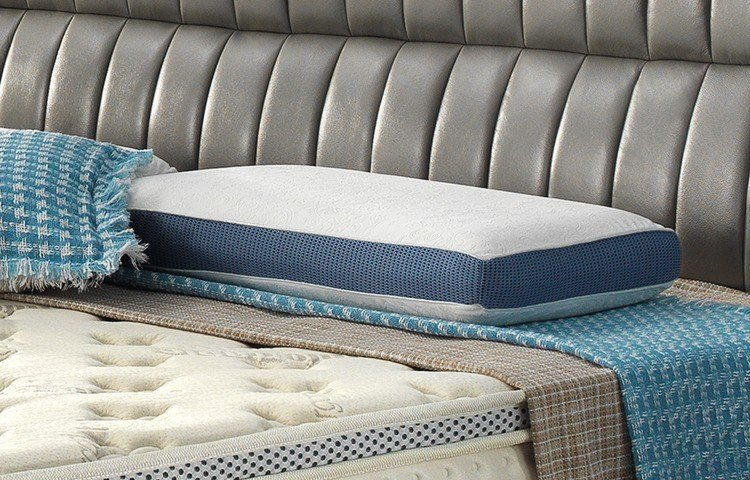 cool contour memory foam pillow woven science selfventilating Warranty Rayson Mattress