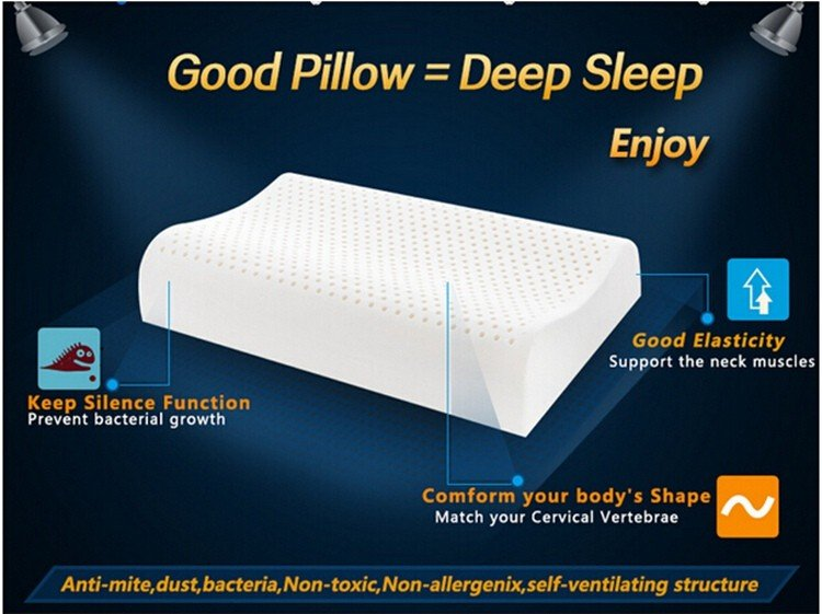 Rayson Mattress high quality queen latex foam pillow Supply-5
