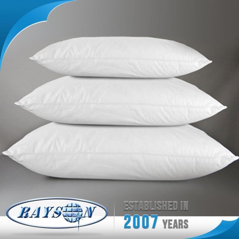 Productos a granel de China almohadilla bajo costo poliester rellenos almohadas