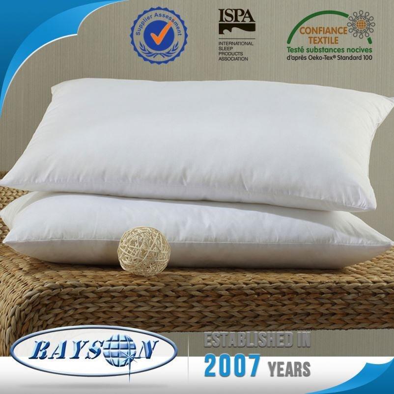 Productos de bajo precio de China dirigen fábrica poliéster almohada
