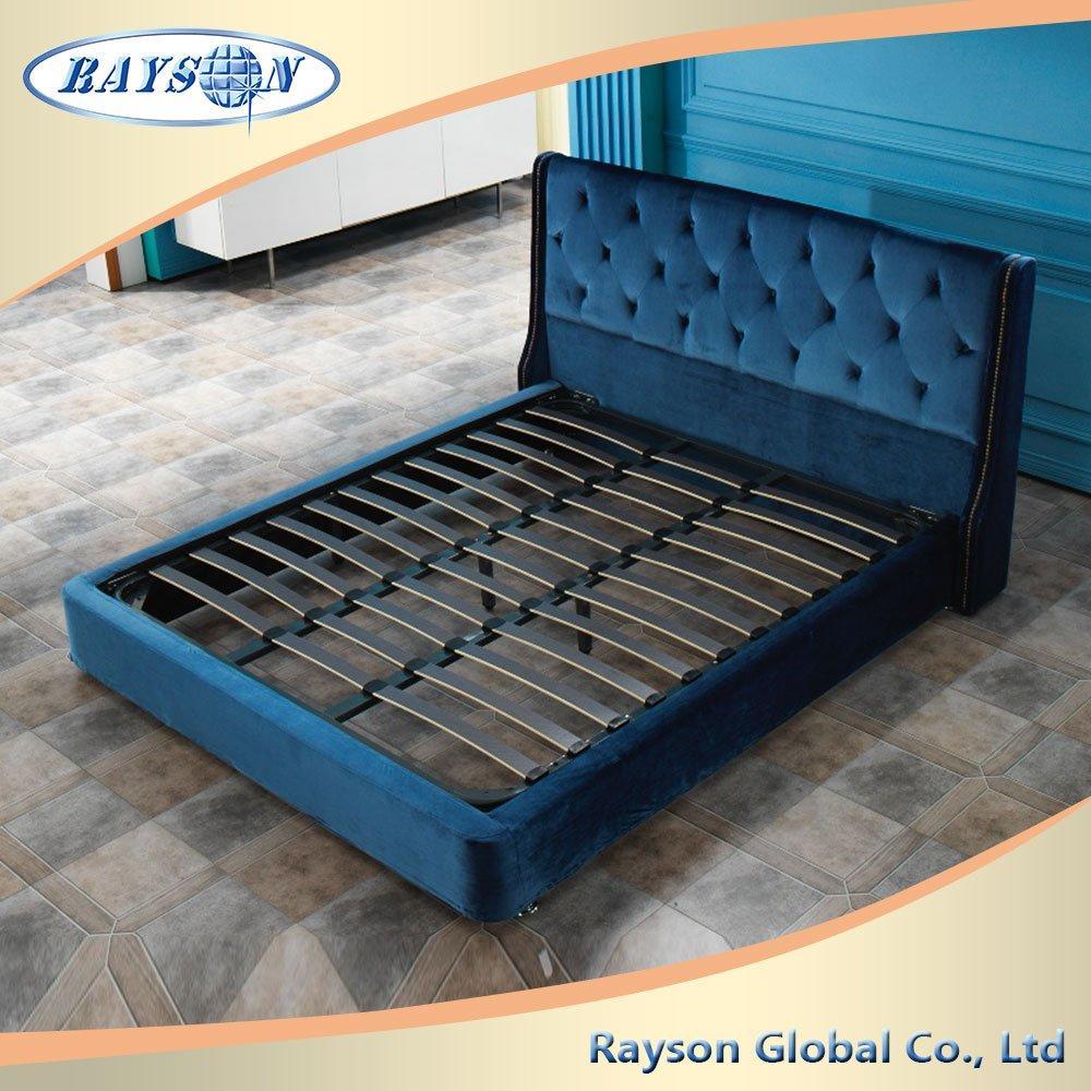 Home Furniture modern wooden sleeping bed design
