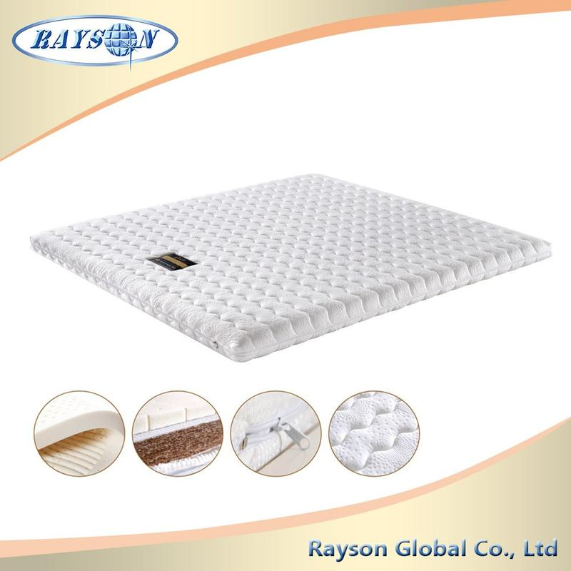 Washable Fabric Design Customizable Highly Coco Mat Foam Palm Fiber Mattress